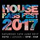House Bass Fest 2017 Flyer