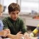 Happy Children Learning at Robotics School 46