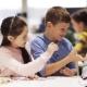 Happy Children Learning at Robotics School 55