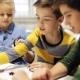 Happy Children Learning at Robotics School 7