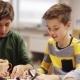 Happy Children Learning at Robotics School 45