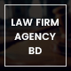 Law Firm Agency BD PSD Template