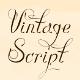 Vintage Script