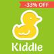 Kiddie - Kindergarten / Nursery  WordPress Theme