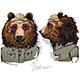 Bear Dressed as Human Ranger