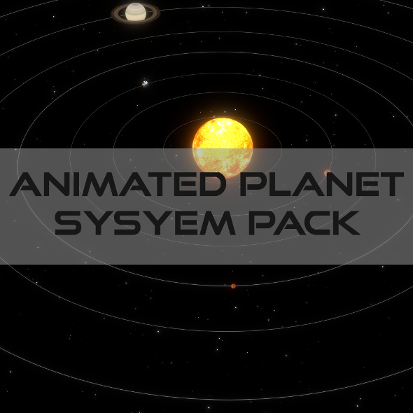 3DOcean Animated Planet Pack 19365931