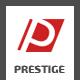 Prestige - Single Page PSD Template
