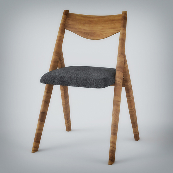 Wooden Chair - 3DOcean Item for Sale