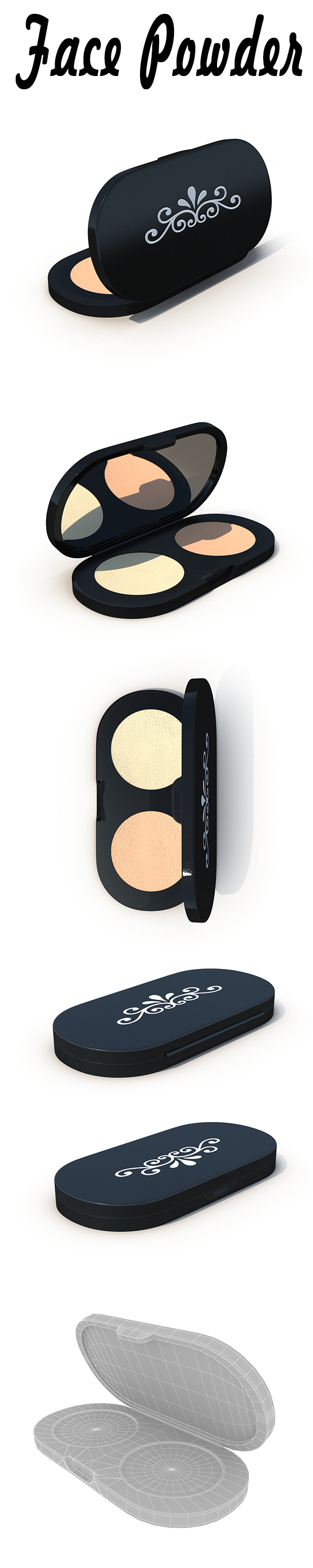 Face Powder - 3DOcean Item for Sale