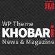 Khobari - News & Magazine WordPress Theme