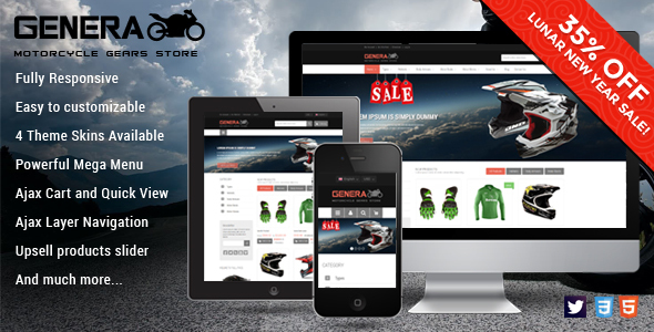 01 590x300. large preview. large preview - Genera - Responsive Magento Sport Theme