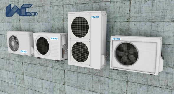 Air Conditioner - 3DOcean Item for Sale