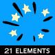 Classic Cartoon 2D Effects (21 elements)