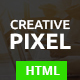 Creative Pixel – One Page Agency Template (Creative) Download