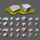 Isometric Stones for Creating Video Games