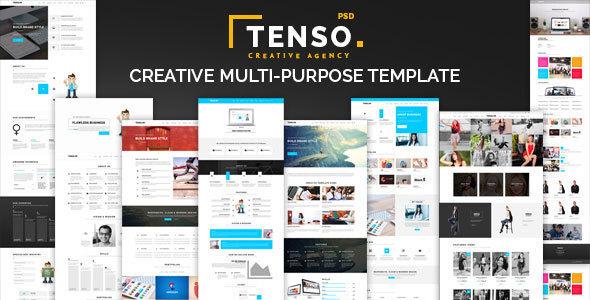 Tenso - Creative Multi-Purpose PSD Template