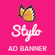 Stylo | HTML 5 Business Animated Google Banner