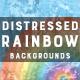 Distressed Rainbow | Backrounds