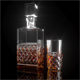 Cashs Crystal Cooper Single Malt Square Decanter