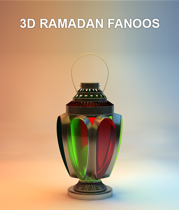 Ramadan Fanoos - 3DOcean Item for Sale