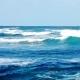 Ocean Waves Near Shore.