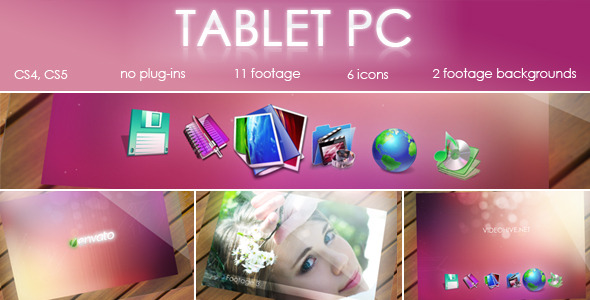 After Effects Project - VideoHive Tablet PC 1903005