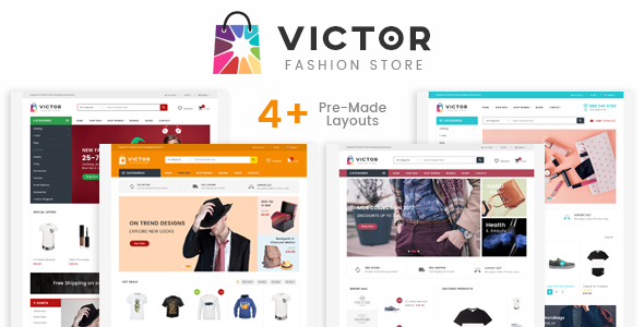 Victor - Fashion Responsive Prestashop Theme