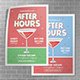 Happy Hours A3 Poster