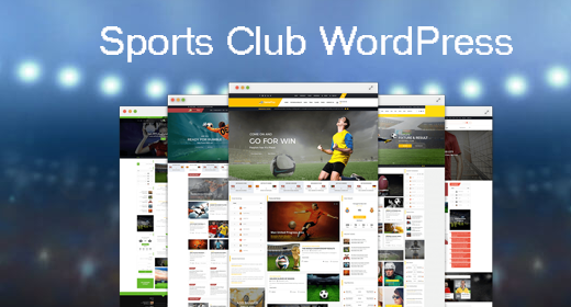 Sports Club - WordPress Themes