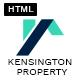 Kensington Property -  Agency and Single property HTML Template
