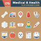 Medical & Health Flat Paper Icon