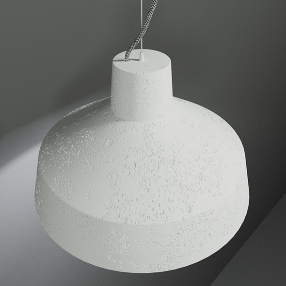 Gypsum Lamp - 3DOcean Item for Sale