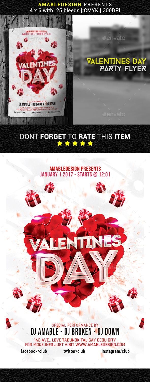 Valentines Day Flyer/Poster