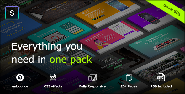 Spring - Multipurpose Unbounce Pack