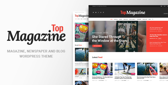 Top Magazine - News, Blog & Magazine WordPress Theme