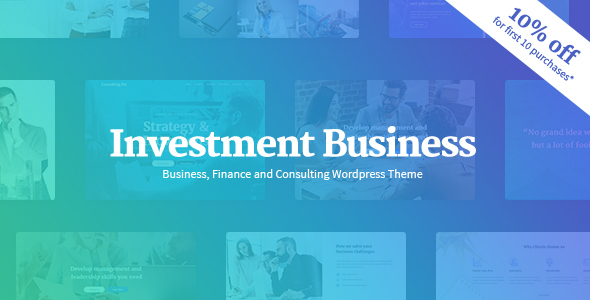 Investment Enterprise – Finance &amp Investment Consulting WordPress Theme (Enterprise)