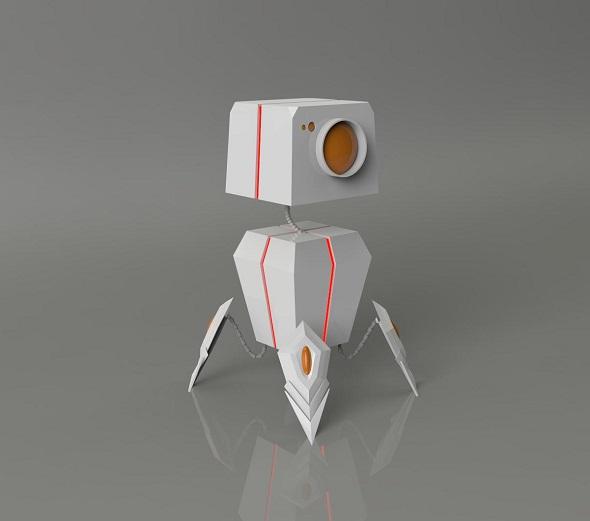 mini bot - 3DOcean Item for Sale