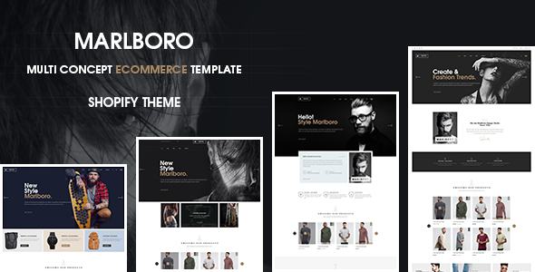 Marlboro Drag And Drop - Responsive- Shopify Theme
