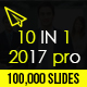 10 IN 1 - 2017 Pro Powerpoint Bundle