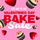 Valentines Day Bake Sale Flyer