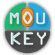 Mouse and Keyboard OSD for Video Tutors - Moukey 2.3.0