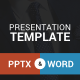 Presentation Template - PowerPoint And Word