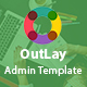 OutLay - Responsive Material Admin Template