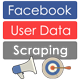 Facebook User Data Scraping From Posts