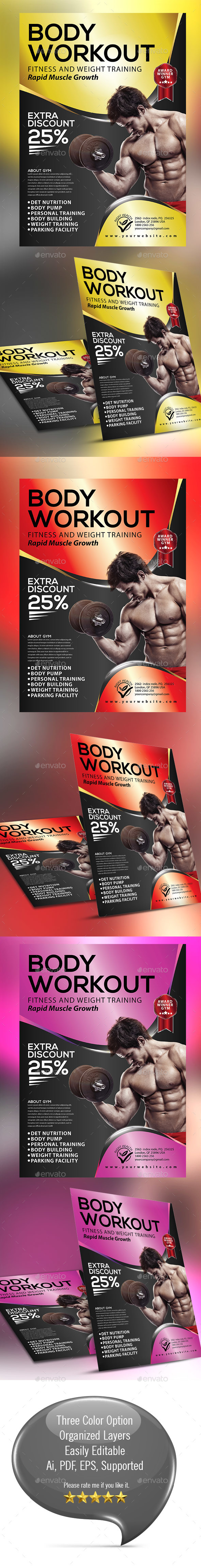 Fitness/Gym Flyer 002