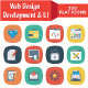 330 Flat Web Design Developemnt & UI Icons