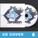 Broken Minimal - Audio CD Cover Artwork Template