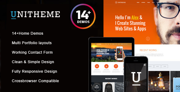 UniTheme - Responsive Multi-Purpose HTML Template