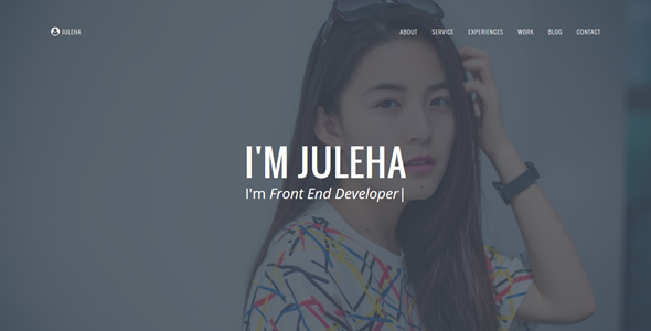 Juleha - One Page Resume Template