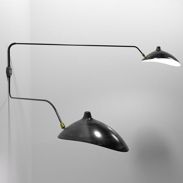 Loft Sconce - 3DOcean Item for Sale